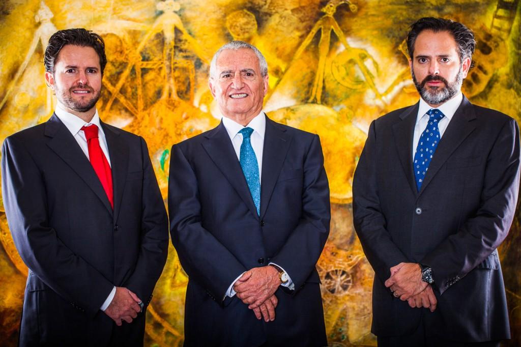 José Antonio García Alcocer, José Antonio García Luque and Santiago García Luque